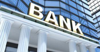 Bank bejárata