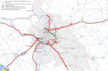 Pest megye térképe
