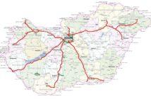 Térképen a fizetős utak