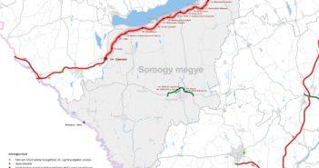 Somogy megye térképe