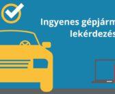 Az ingyenes gépjármű adat lekérdezés használata 2020-ban